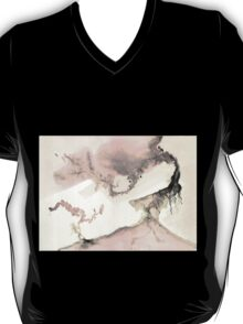 0011 - Brush and Ink - Left T-Shirt