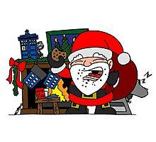 Whovian Santa Photographic Print
