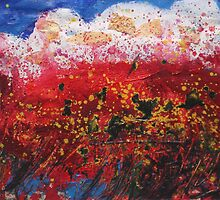 Wildflower Storm  by Carmen  Cilliers