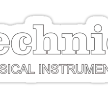 Technics Musical Instruments Sticker
