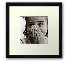 Don't cry Framed Print