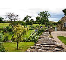 A Country Garden Photographic Print