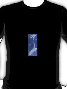 0017 - Brush and Ink - TreeAndBirds T-Shirt