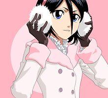 Bleach - Rukia Case [Winter Pink] by Susanwolf