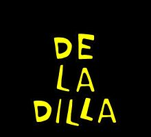 De La Soul - De La Dilla (Black-Yellow) by Gerrit Deschuyteneer