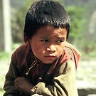 Nepal Boy by Rebecca Smith