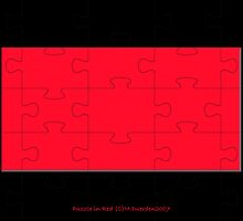 Puzzle in Red by michelleduerden