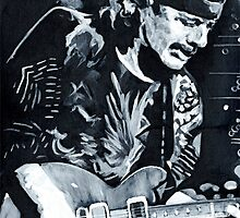 Carlos Santana - Black Magic Woman by ArtspaceTF