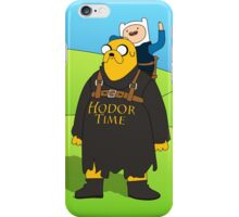 Hodor Time iPhone Case/Skin