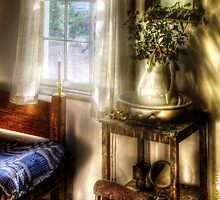 In a bedroom by Mike  Savad