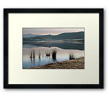 Winter landscape #2 Framed Print