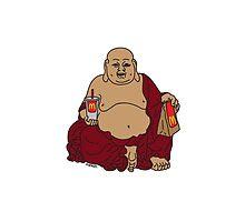 Fat Buddah by jackfergo
