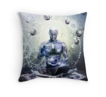 Experience So Lucid, Discovery So Clear Throw Pillow