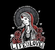 Life is Love by d13design