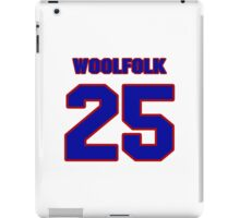 National football player Butch Woolfolk jersey 25 iPad Case/Skin
