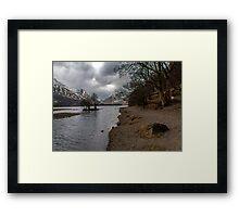 Brothers Water Shoreline Framed Print