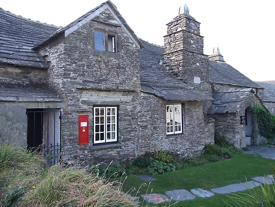 The Old Post Office, Tintagel by Mark Wilson