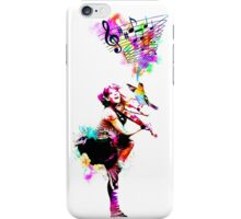 A Bird And The Violinist iPhone Case/Skin