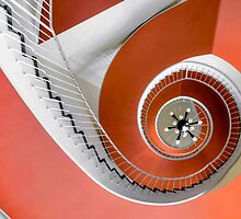 red swirl by christian richter