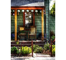 Two rocking chairs Photographic Print