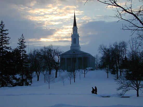 Middlebury College Chapel, Middlebury, VT by Doug Linder