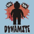 Dynamite Minifigure by Customize My Minifig
