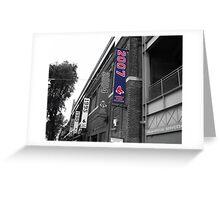 Fenway Park, Boston, MA - 2007 ALCS Championship Banner Greeting Card