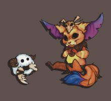Sharing is Caring - Gnar & Poro by Reaperfox