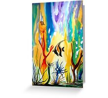 Colours of the Sea Greeting Card