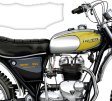Triumph TR5T Adventurer Sticker