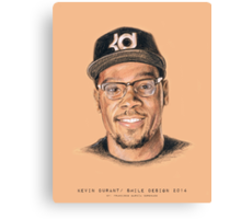 NBA Players Series / Smile Design 2014 Canvas Print
