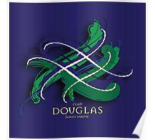 Douglas Tartan Twist Poster