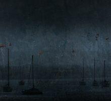 Dark Skerries Harbour by Dermot O'Mahony