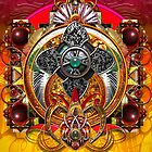 Warrior Mandala P by paxempire