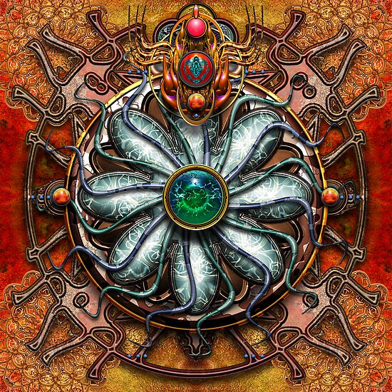 Water Source Mandala  by paxempire