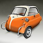 BMW Isetta Bubble Car by Tony  Newland