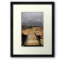 The Path Ahead Framed Print