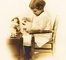 Little Gladys ~ Another Tribute To Mom by artwhiz47