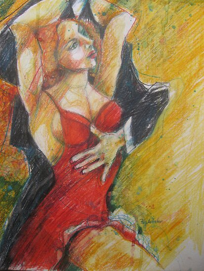 LIFE IS LIKE TANGO by GittiArt