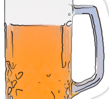 Save water - drink beer Sticker