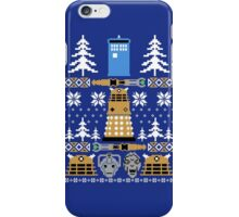 Doctor Who Ugly Sweater iPhone Case/Skin