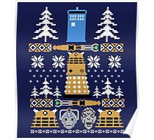 Doctor Who Ugly Sweater Poster
