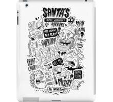 Santa's Little Workshop of Horrors iPad Case/Skin