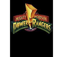 power rangers Photographic Print
