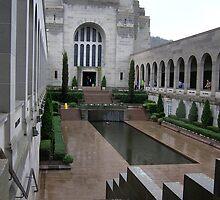 War Memorial Canberra by Virginia McGowan
