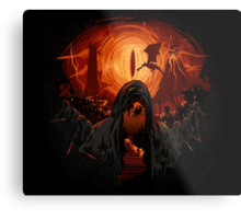 Hobbit nightmare Metal Print
