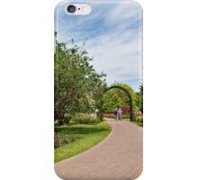 Along the garden path iPhone Case/Skin