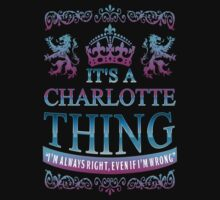 it's a CHARLOTTE thing by RooDesign