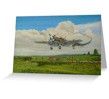 Spitfire's Safe Return  Greeting Card