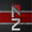 N7 wall art 0001 by thatstickerguy